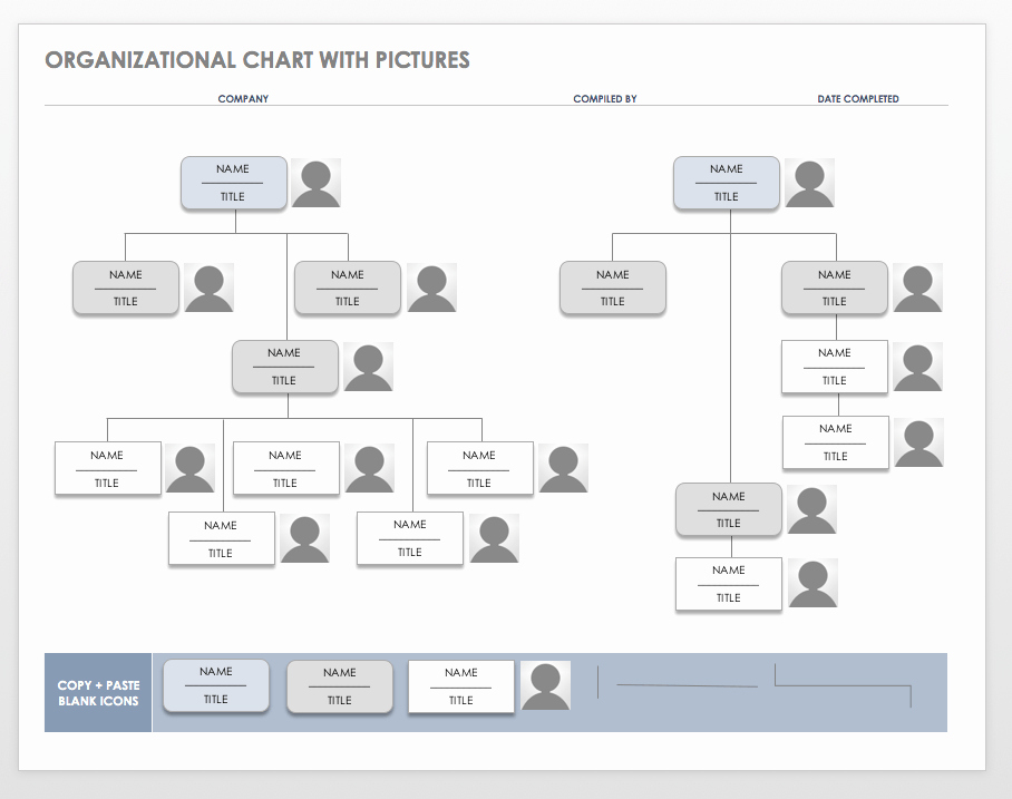 Free organization Chart Templates for Word