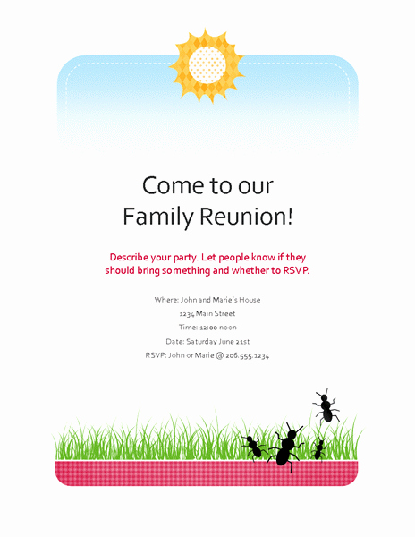 Free Party Invitation Template Brochure Templates Free