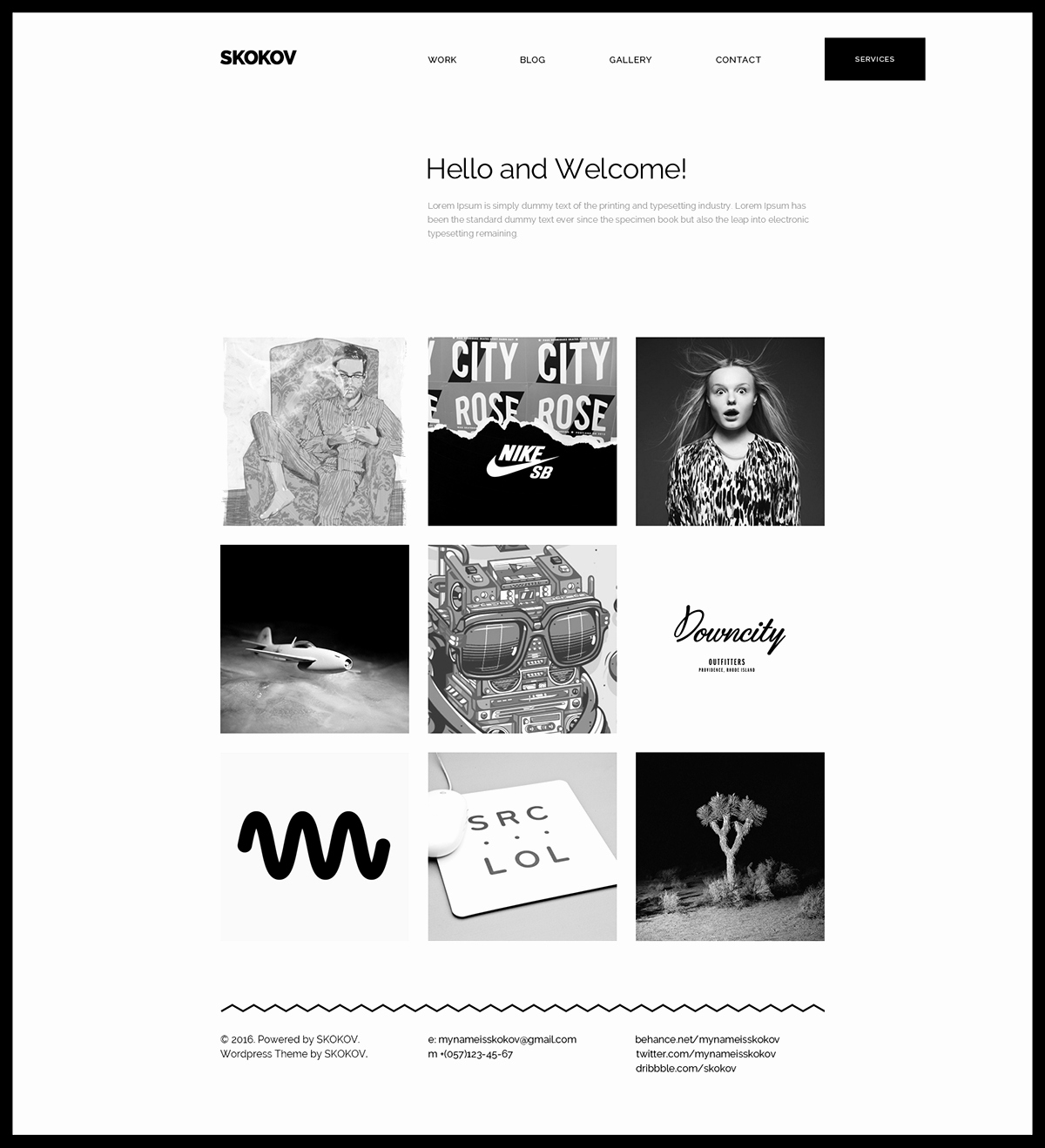 Free Personal Portfolio Template — Free Design Resources