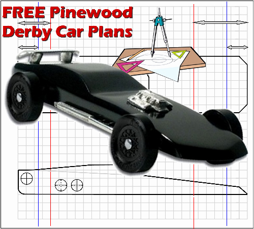 Free Pinewood Derby Car Plans Designs and Templates