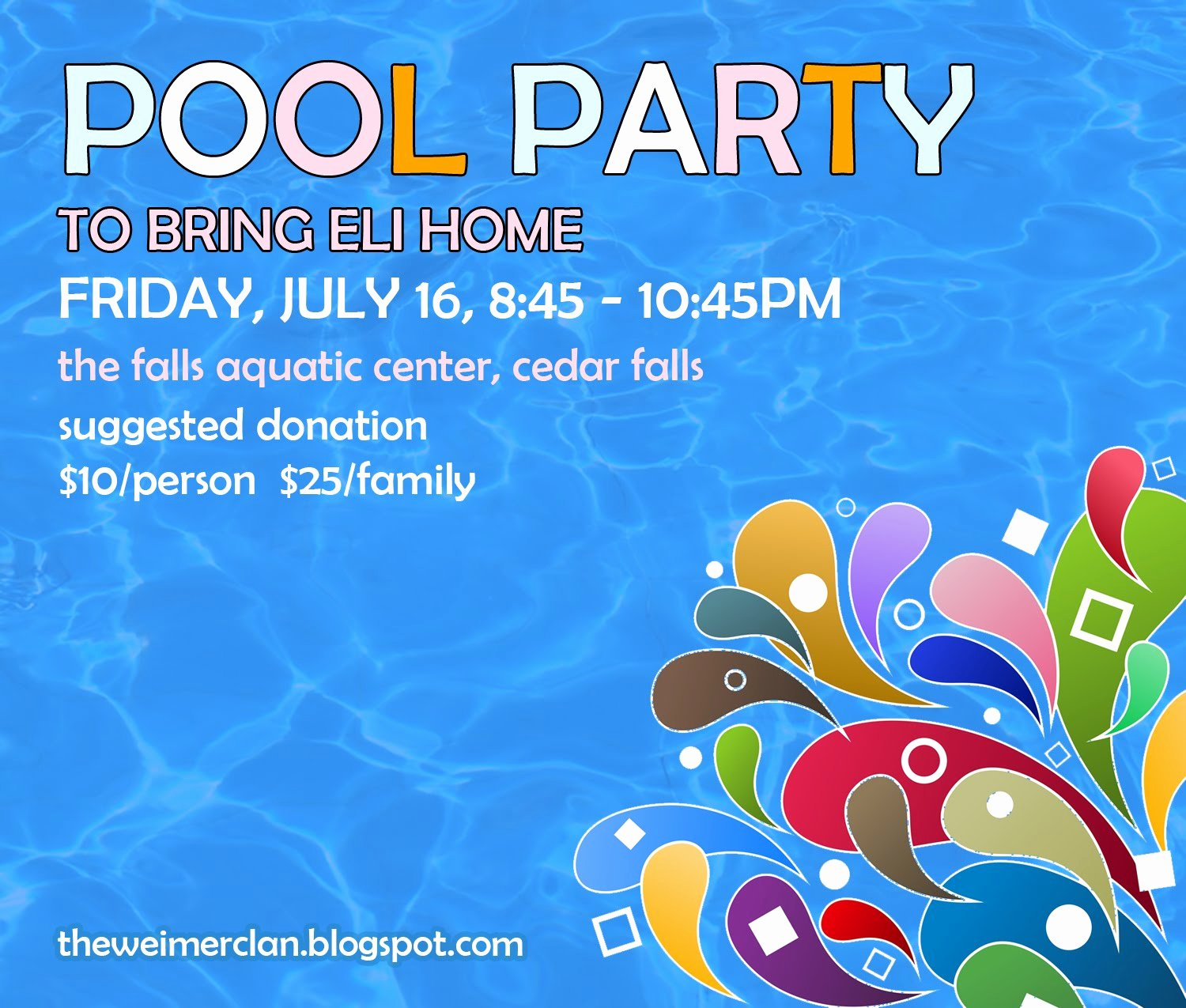 Free Pool Party Flyer Templates