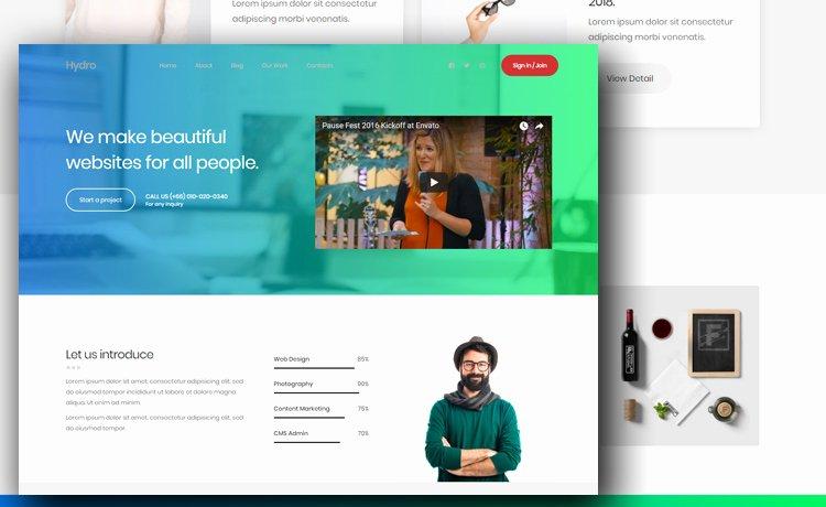 Free Portfolio Website Template to Create A Beautiful
