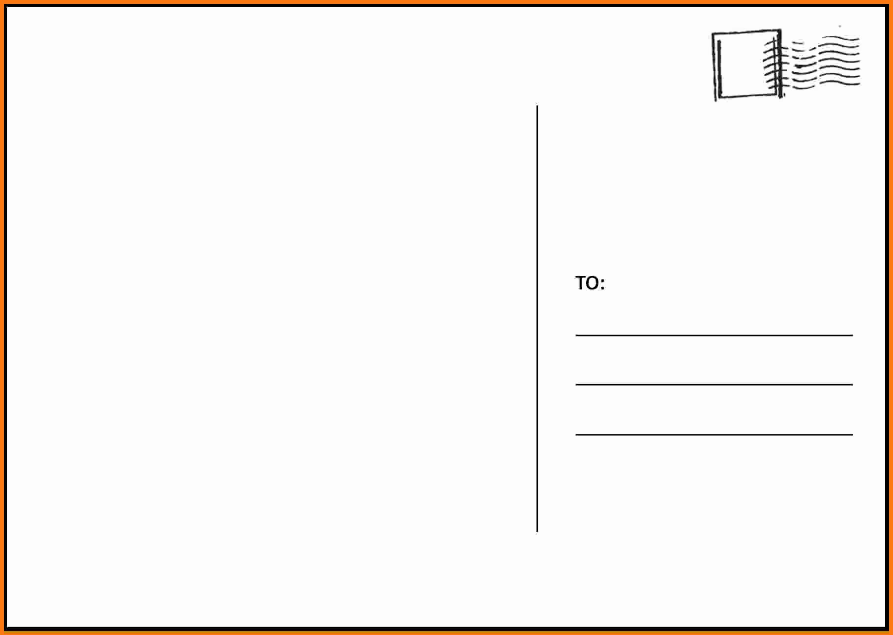 Free Postcard Template for Word Portablegasgrillweber