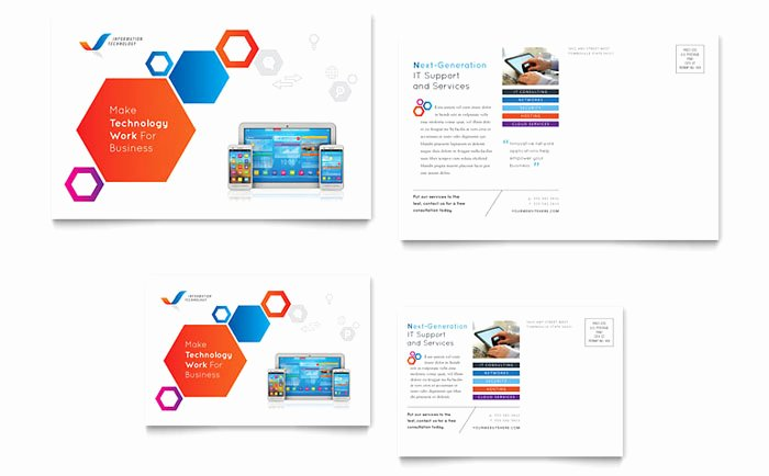 Free Postcard Templates Download Ready Made Designs