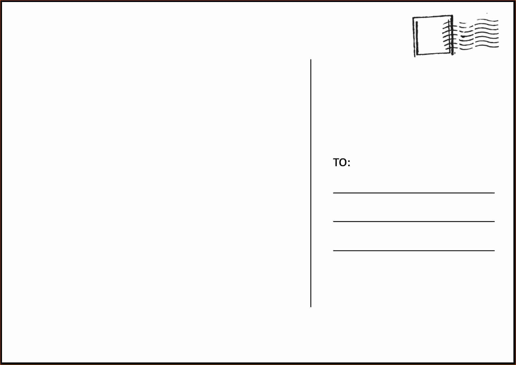 Free Postcard Templates Microsoft Word Ideasplataforma