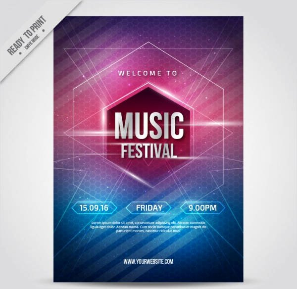 Free Poster Templates 9 Free Psd Vector Ai Eps format