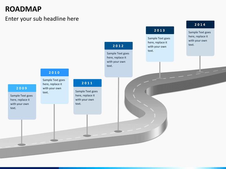 Free Powerpoint Roadmap Template Cpanjfo