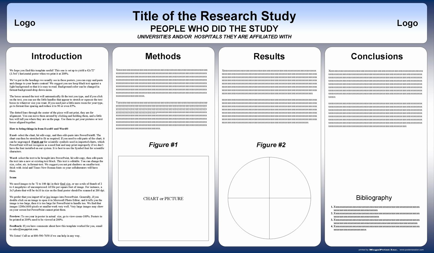 Free Powerpoint Scientific Research Poster Templates for