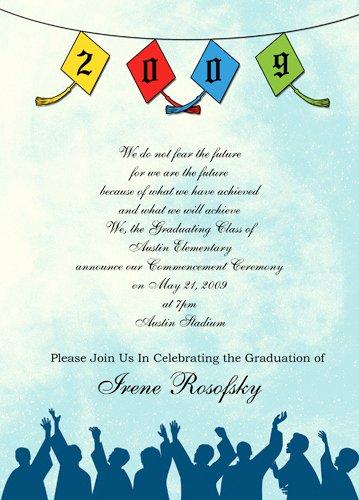 Free Preschool Graduation Invitation Template