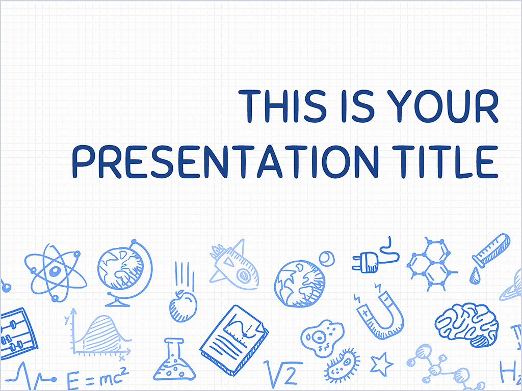 Free Presentation Template Playful Science