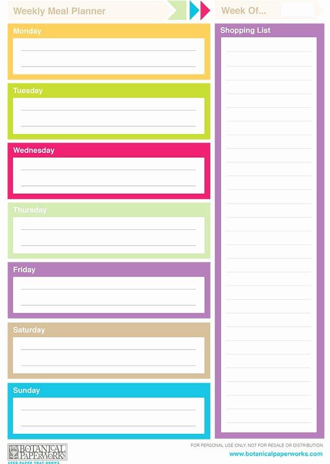 Free Printable 2014 Weekly Planners