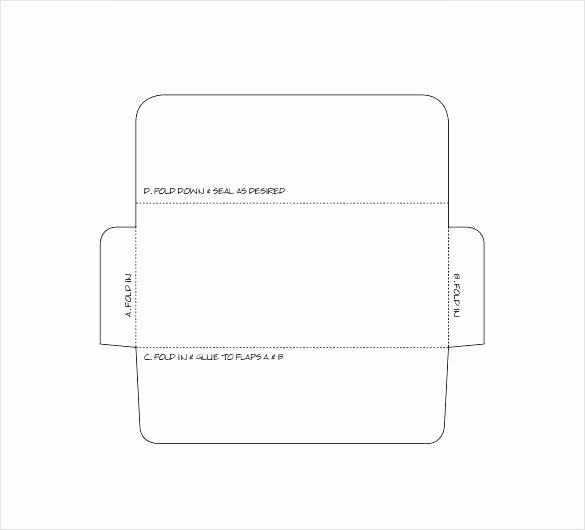 Free Printable 5x7 Envelope Template Design Templates