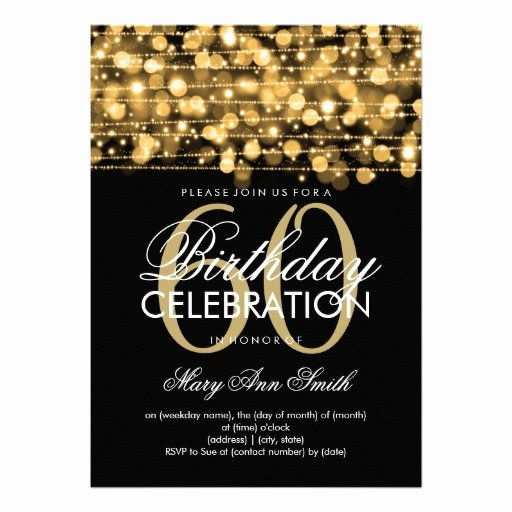 Free Printable 60th Birthday Invitations