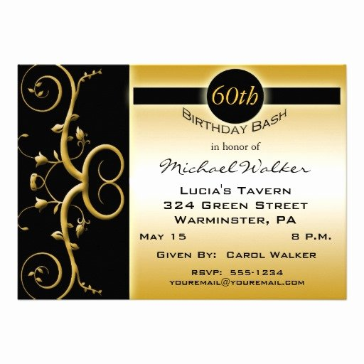 Free Printable 60th Birthday Party Invitations