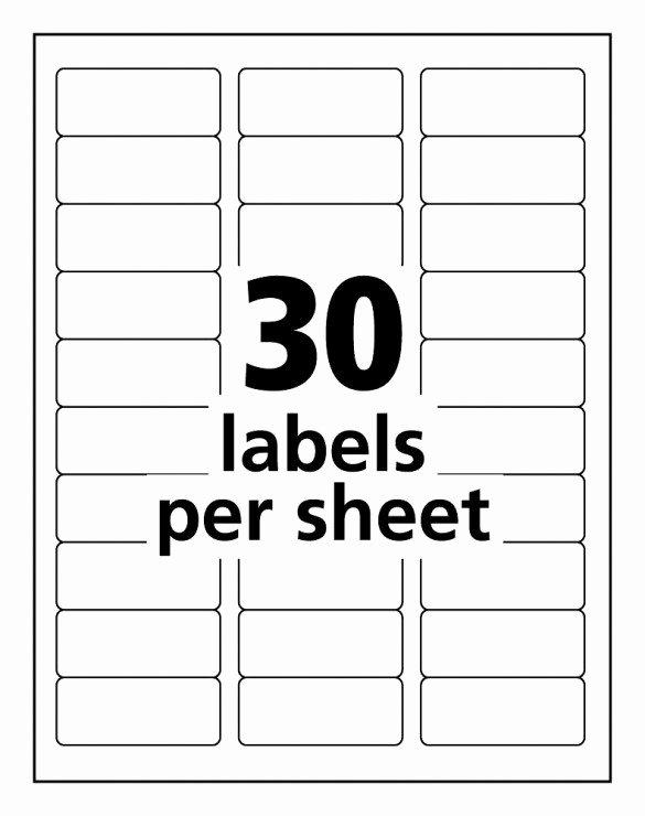 Free Printable Address Label Templates Avery Easy Peel