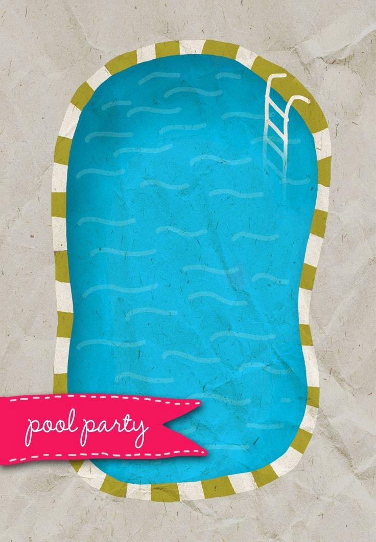 Free Printable Adult Pool Party Invitation – orderecigsjuicefo