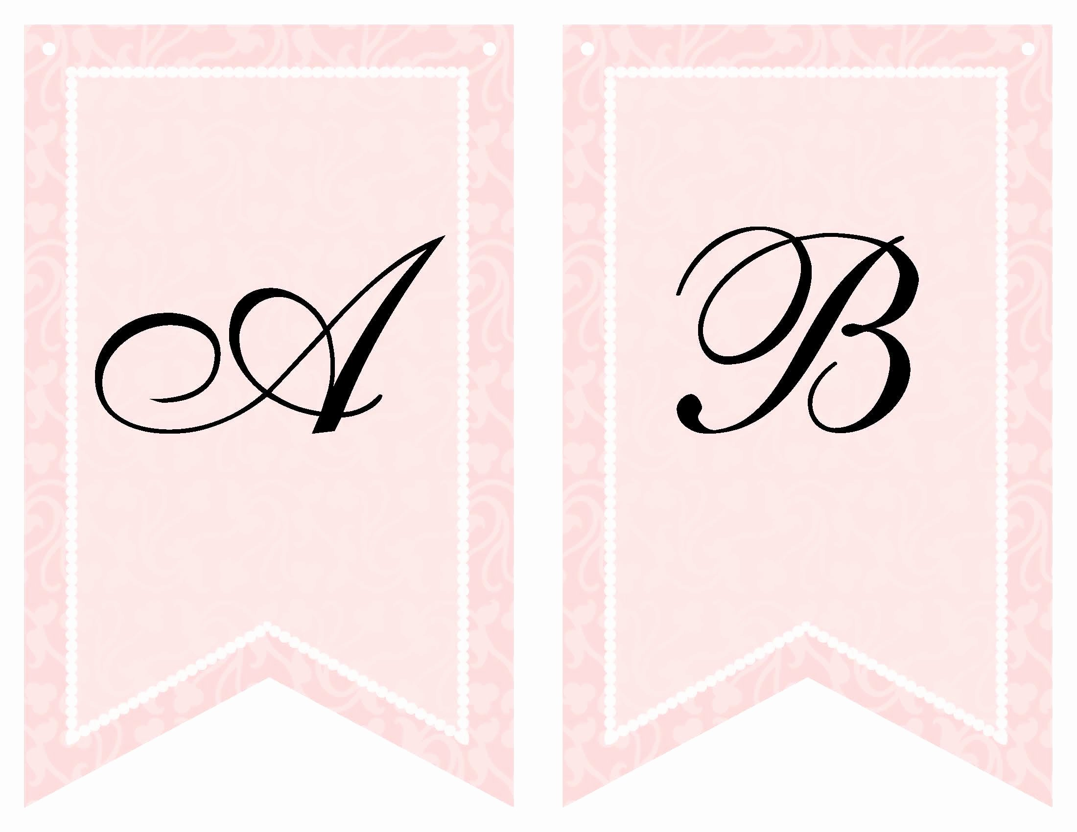 Free Printable Baby Shower Banner Template