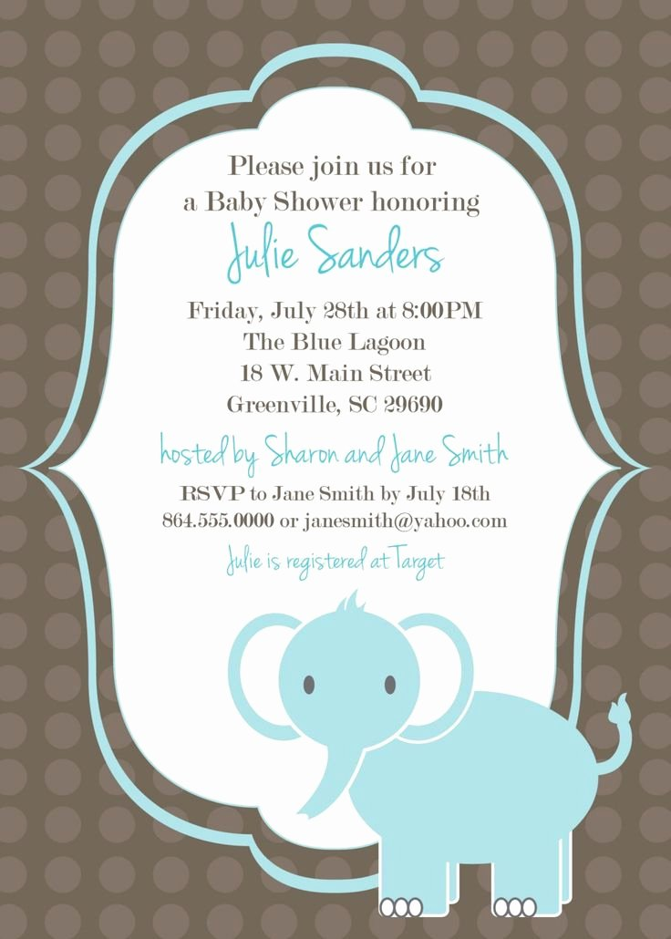 Free Printable Baby Shower Invitation Templates