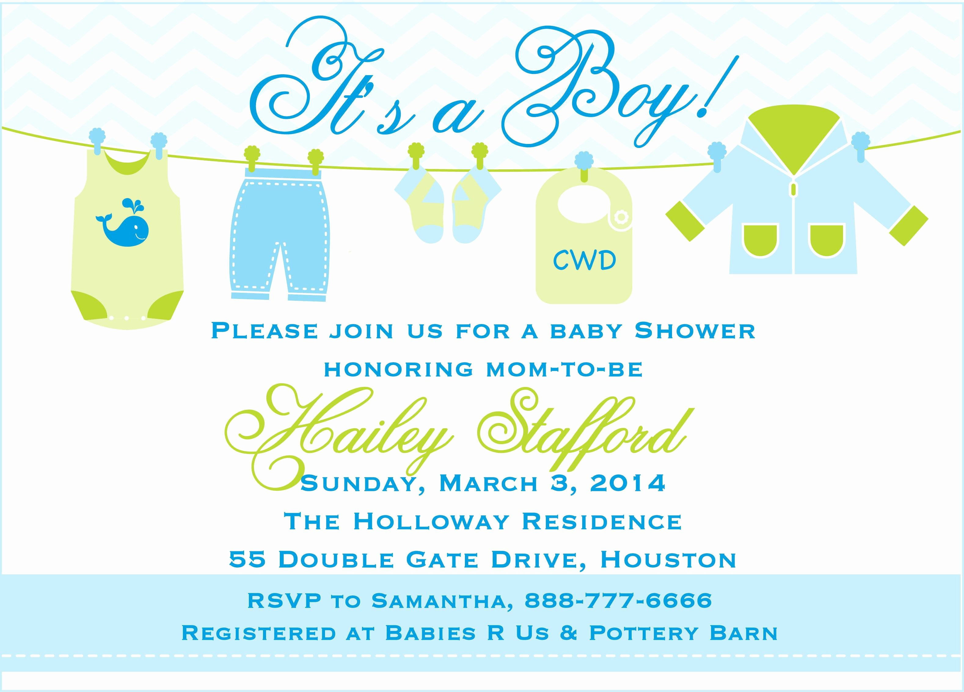 free printable baby shower invitations templates for boys 4272