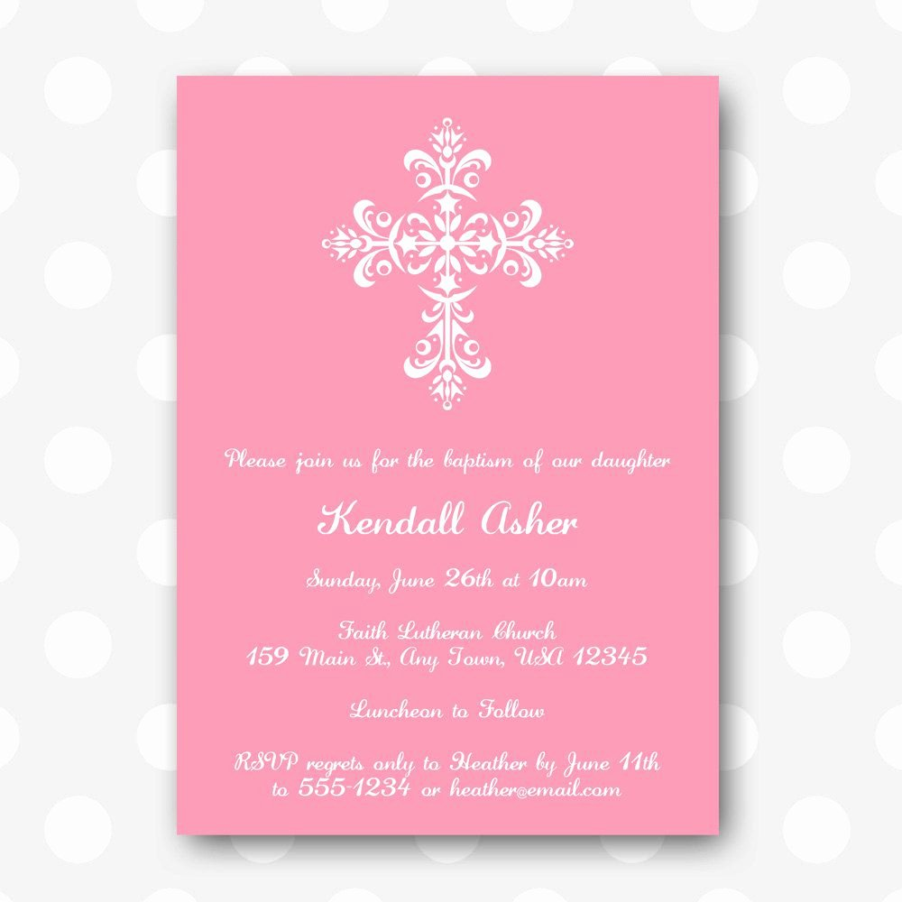 Free Printable Baptism Invitations Free Printable