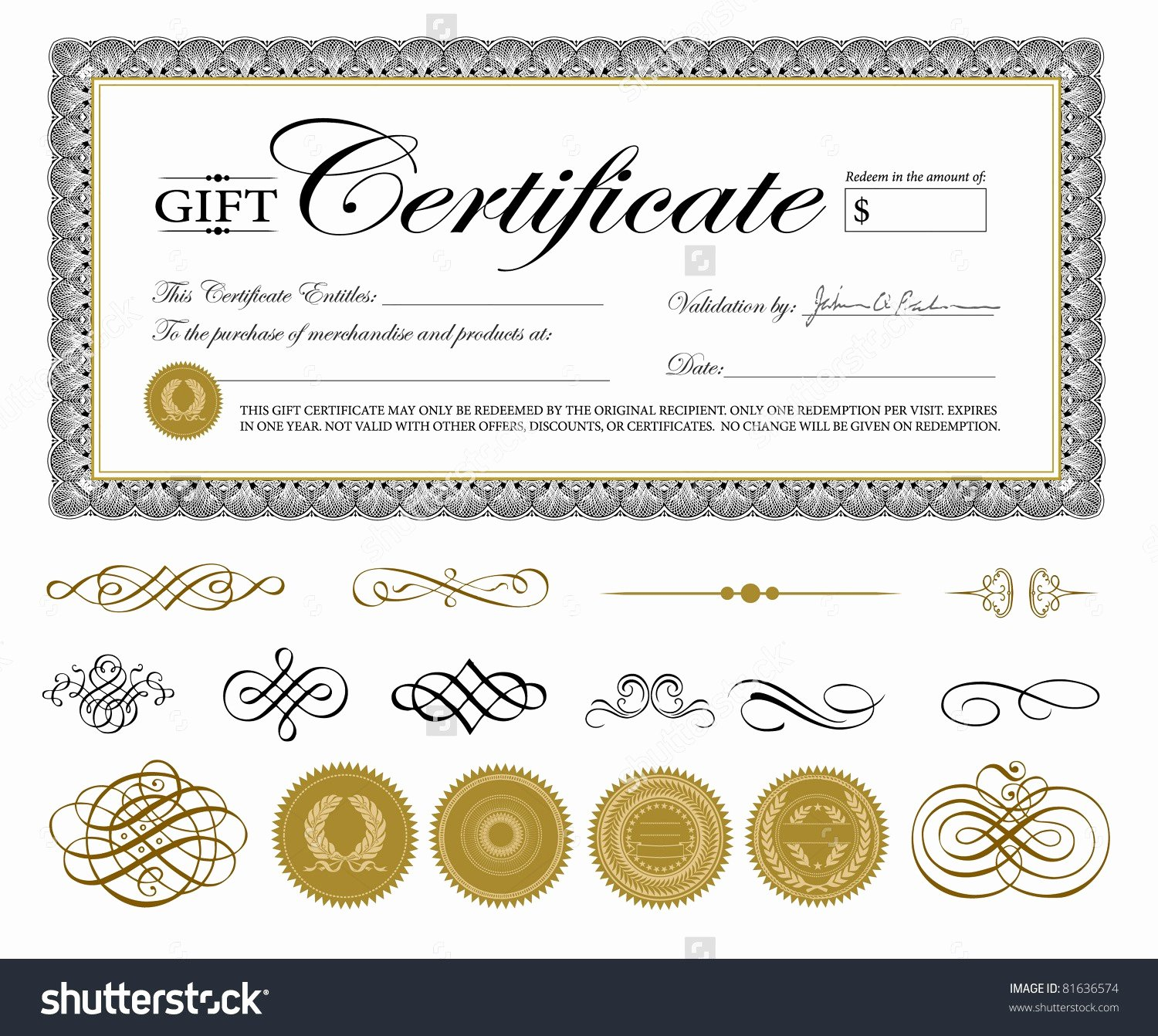 Free Printable Beauty Salon Gift Certificate Templates