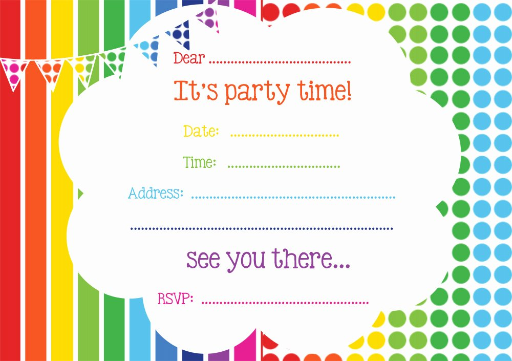 Free Printable Birthday Invitations Line – Free