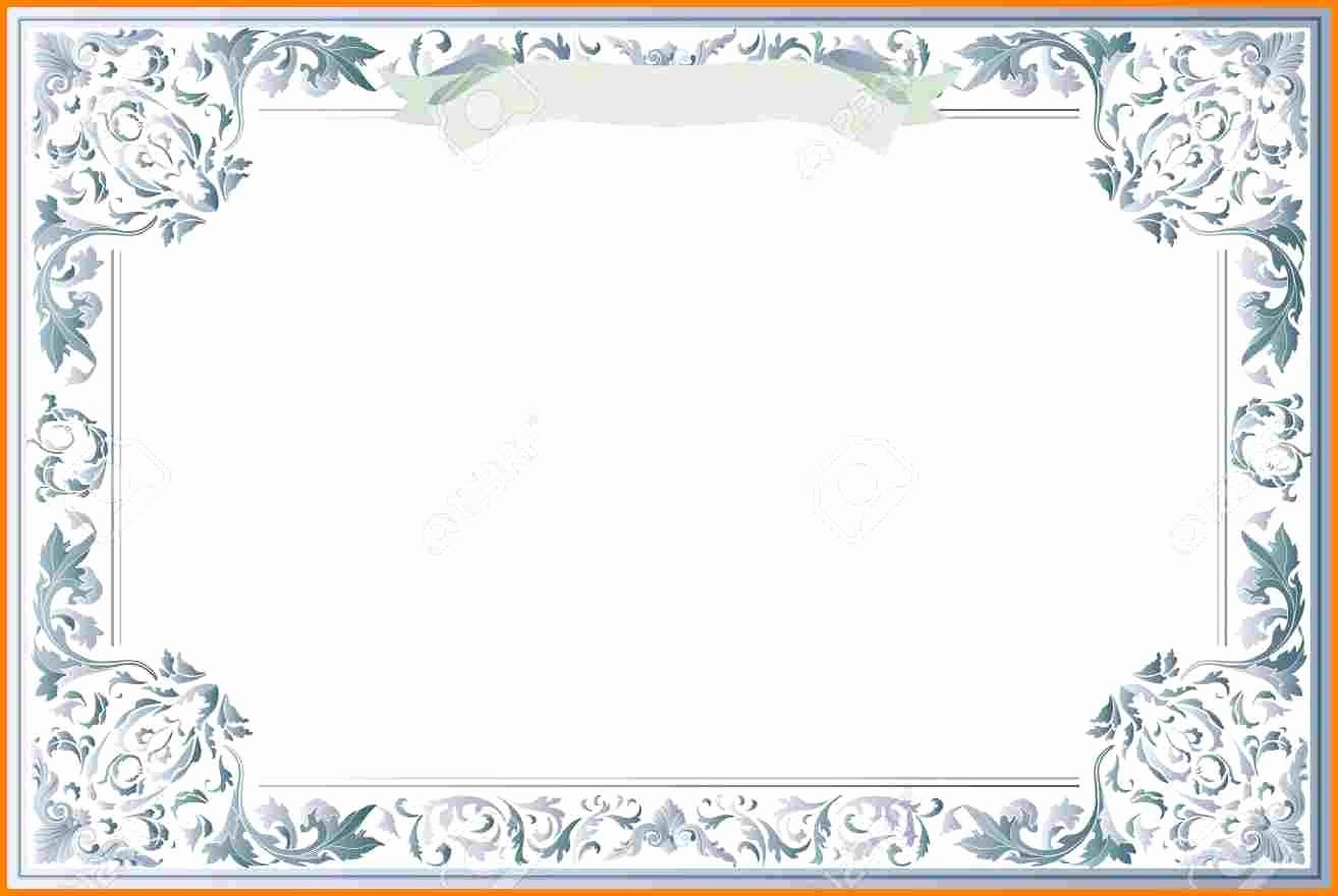 Free Printable Blank Certificate Templates Blank