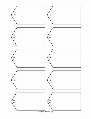 Free Printable Blank Gift Tags Template …