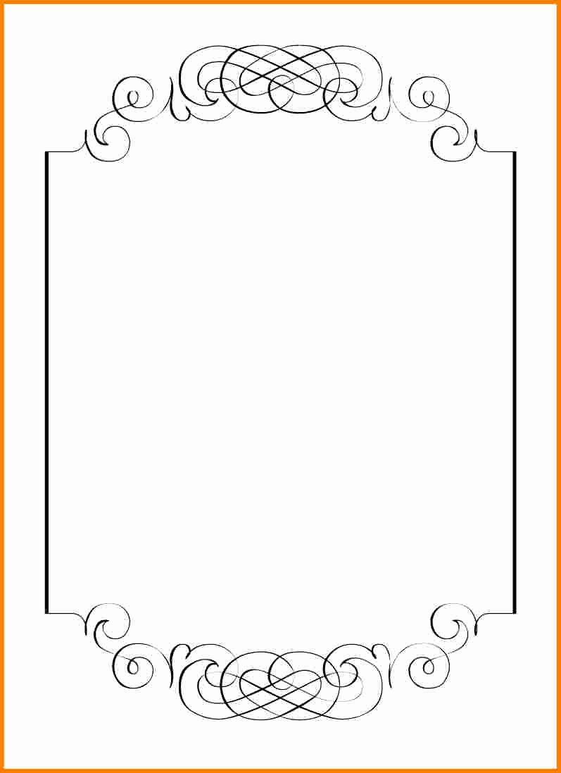 Free Printable Blank Invitation Templates