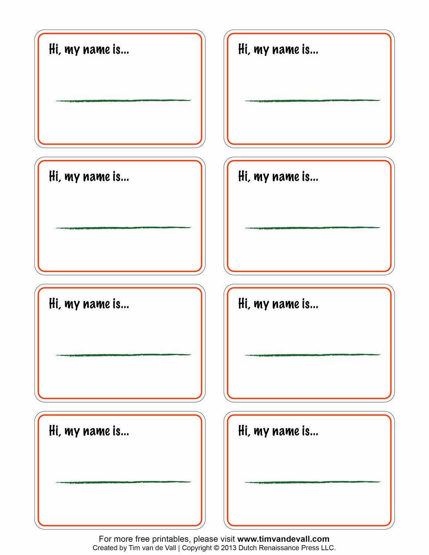 Free Printable Blank Name Tags Printable 360 Degree