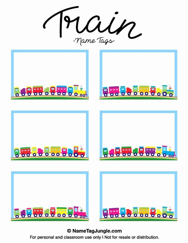 Free Printable Blank Name Tags Printable 360 Degree
