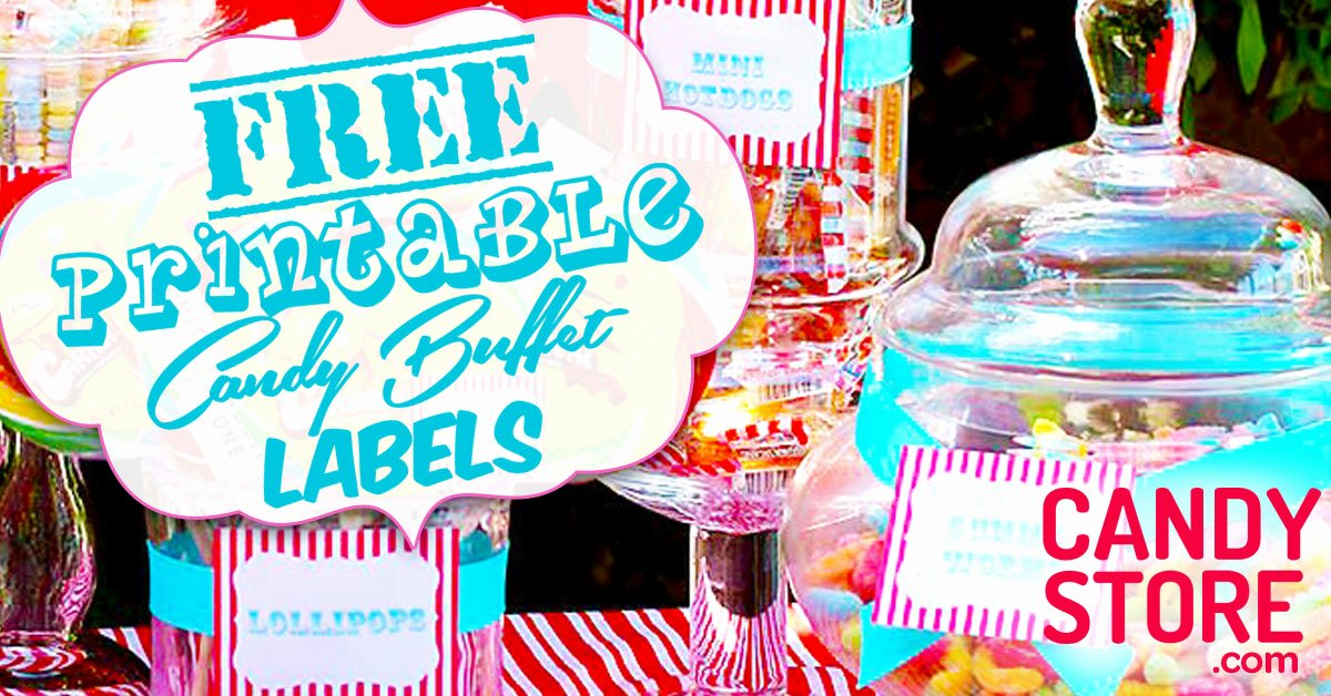 Free Printable Buffet Food Labels Printable Lables Candy