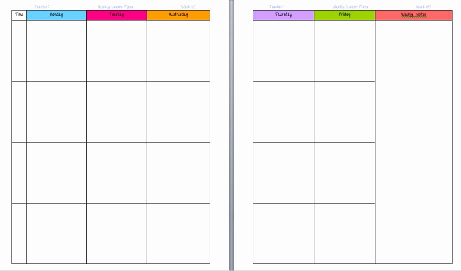 Free Printable Calendars for Teachers Calendar Template 2018