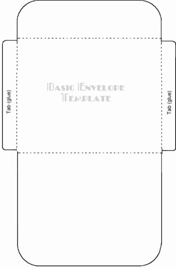 Free Printable Card Envelope Templates