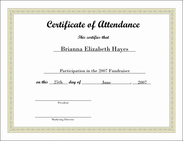 Free Printable Certificate 5