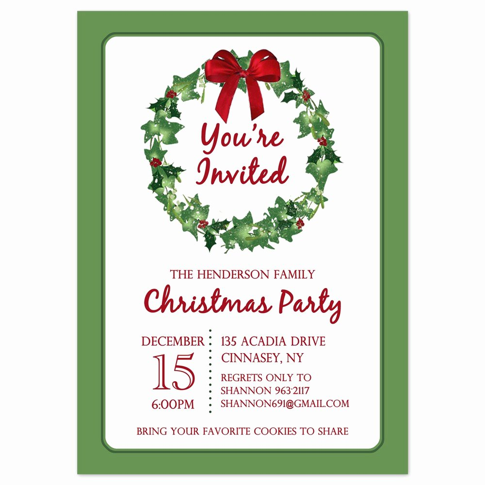 Free Printable Christmas Borders for Invitations