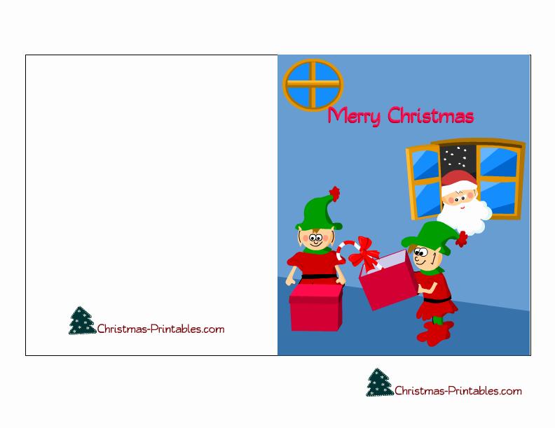 Free Printable Christmas Card Templates for Kids – Fun for