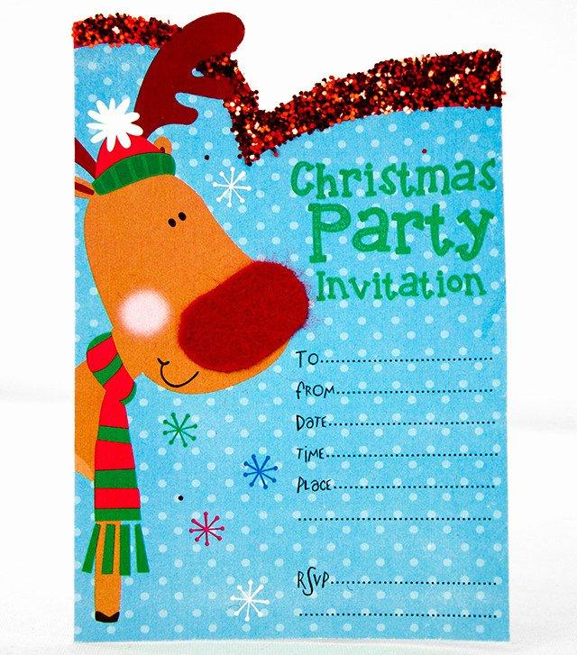 Free Printable Christmas Invitation Templates