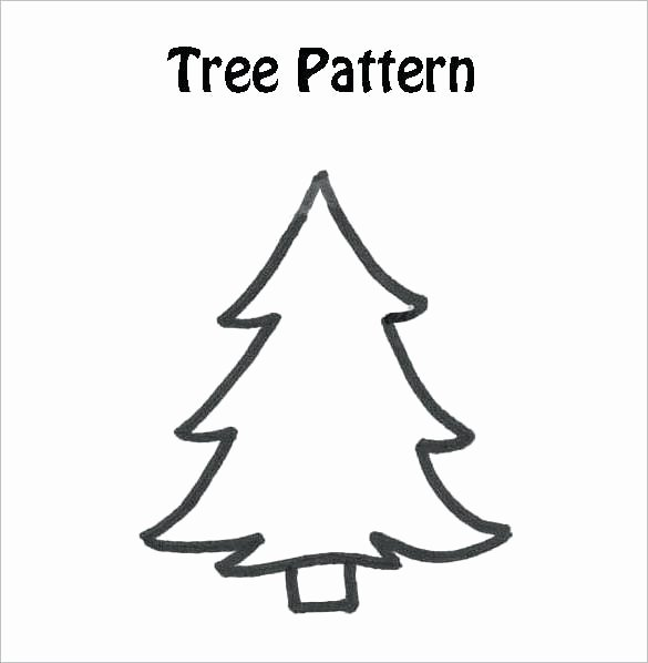Free Printable Christmas Tree Coloring Kids 2018