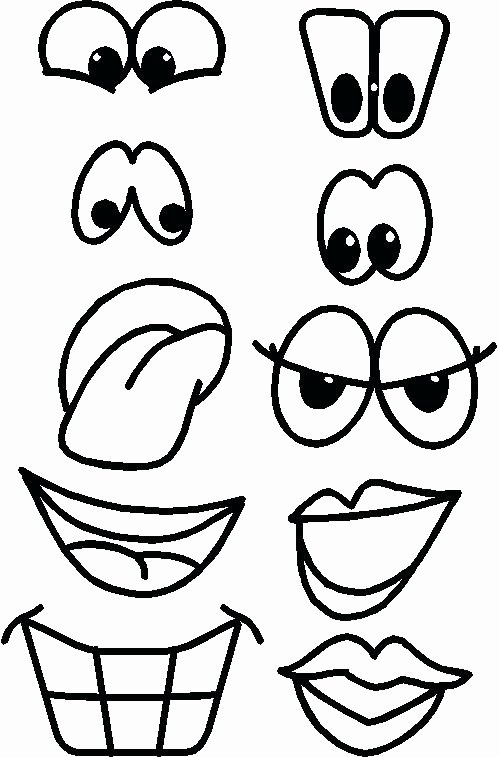 Free Printable Cookie Monster Face Template Cut Out