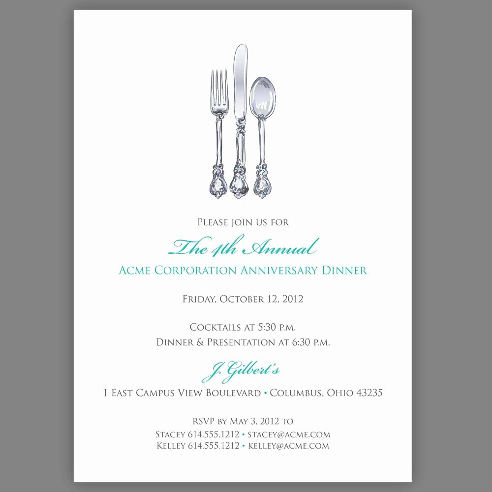 Free Printable Dinner Invitation Templates