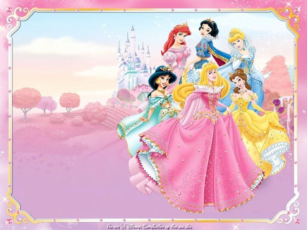 Free Printable Disney Princess Birthday Invitation