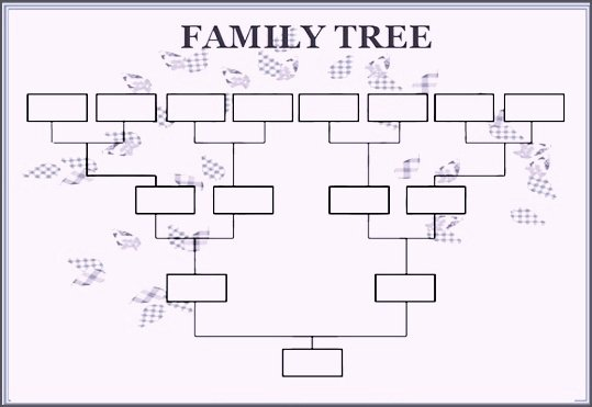 Free Printable Family Tree Template Word & Excel