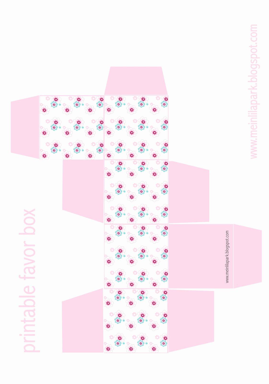 Free Printable Floral Diy T Box Ausdruckbare