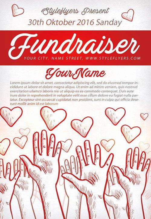 free printable fundraiser flyer templates 2078