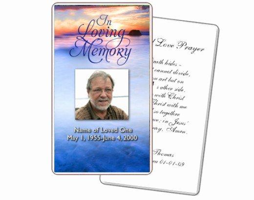Free Printable Funeral Prayer Cards Bing