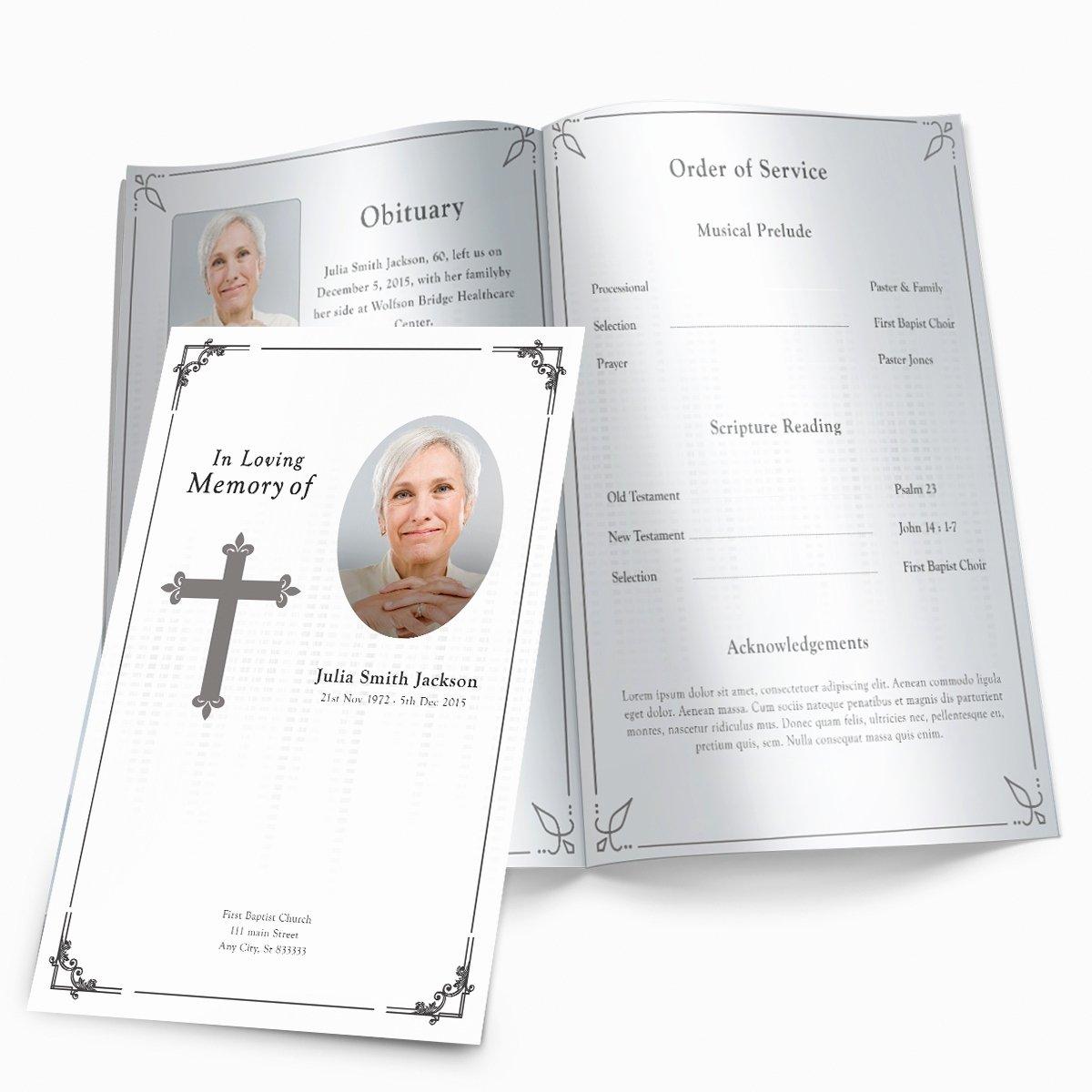 Free Printable Funeral Programs