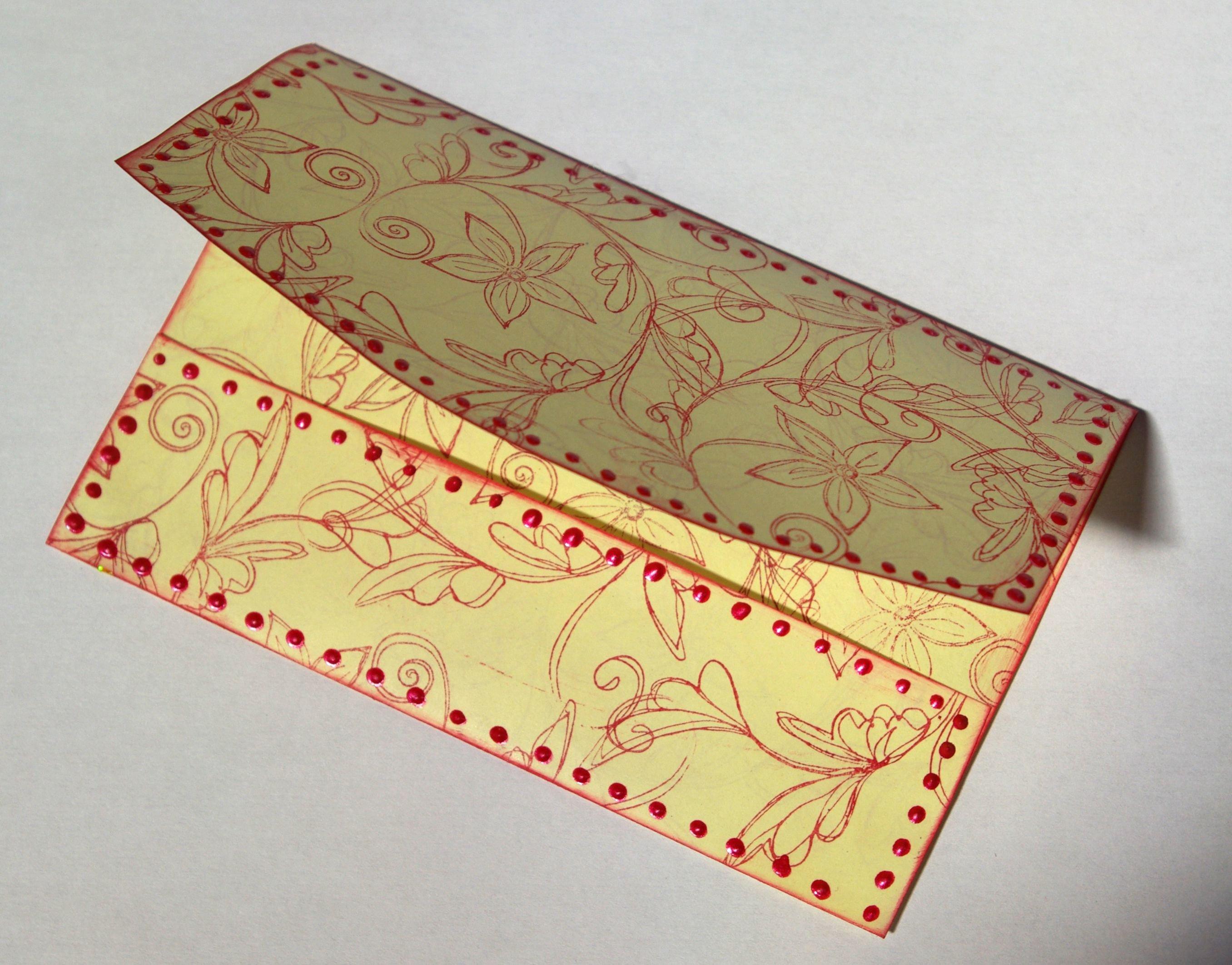Free Printable Gift Card Envelope Template