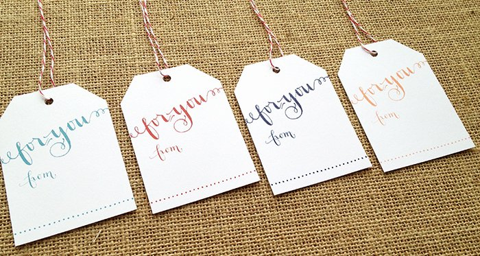 Free Printable Gift Tags for Any Occasion