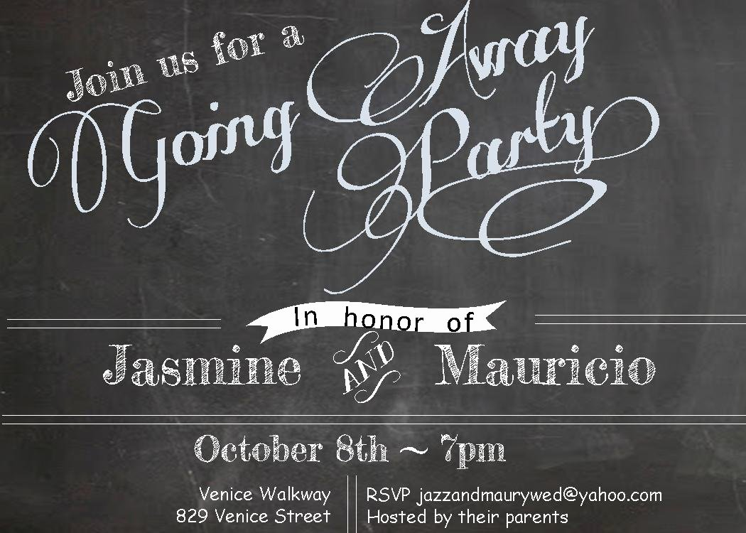 Free Printable Going Away Party Invitations
